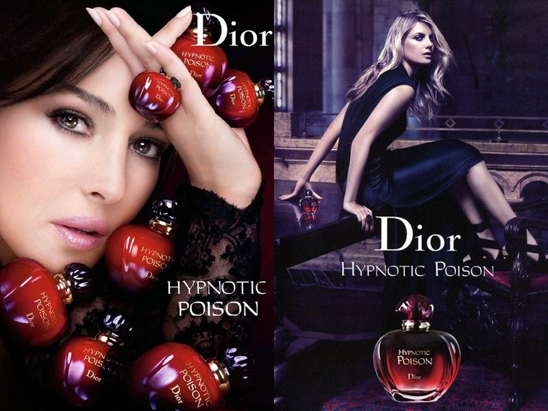Туалетная вода Hypnotic Poison (Christian Dior) - Моника Беллуччи и Мелани Лоран