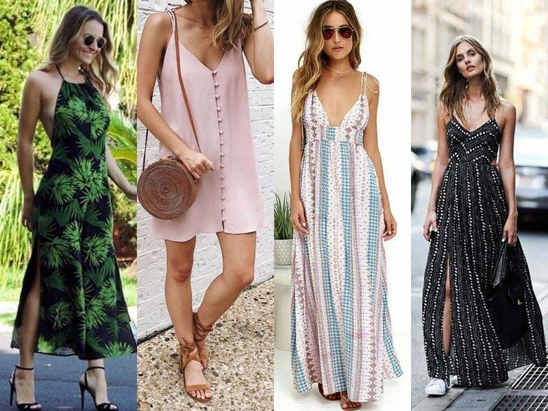 Модные платья на лето - сарафаны