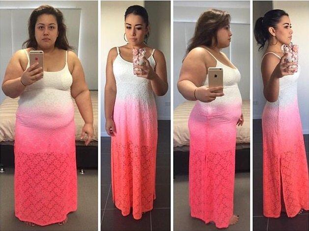 Девушки похудели на 50-100 кг - Анна Мария