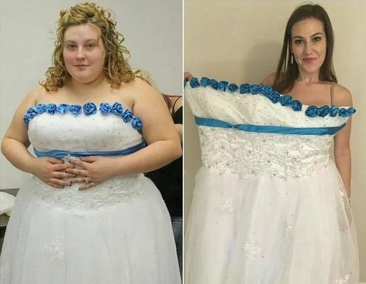 Девушки похудели на 50-100 кг - Линдси