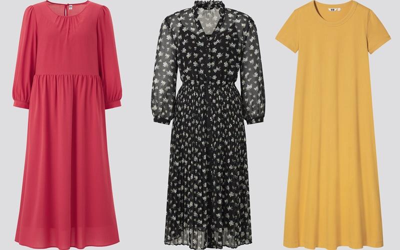 Четыре простых фасона платья, которые вошли в летнюю коллекцию Uniqlo 2021