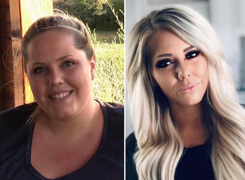 Американка похудела на 70 кг - из домохозяйки в инста-диву