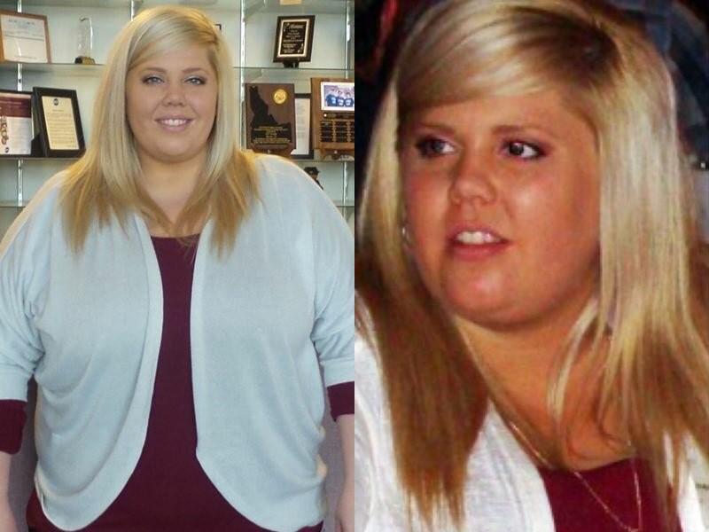 Американка похудела на 70 кг - до похудения