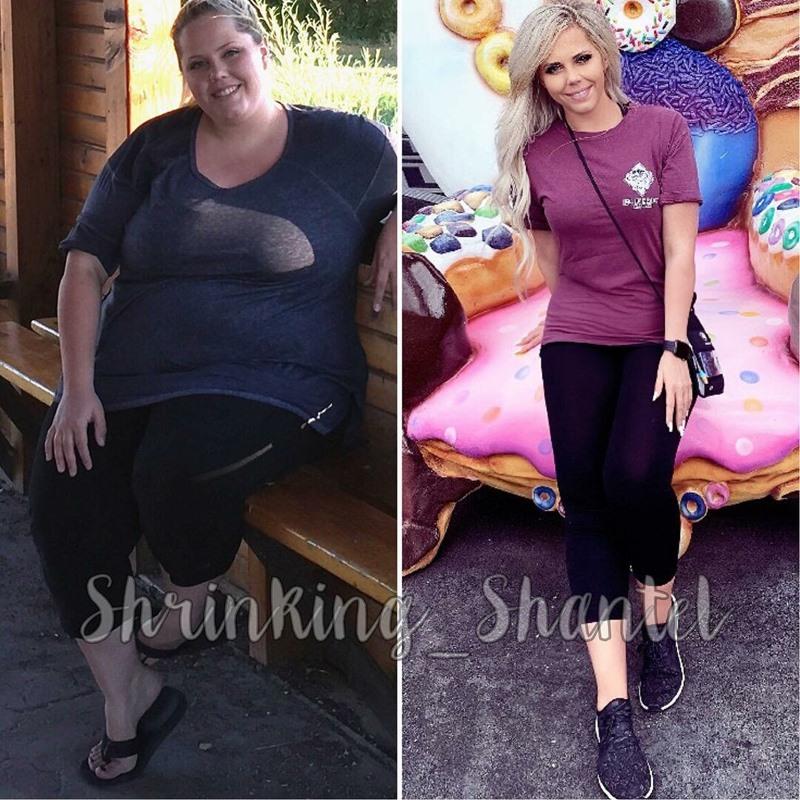 Американка похудела на 70 кг - фигура до и после сброса веса