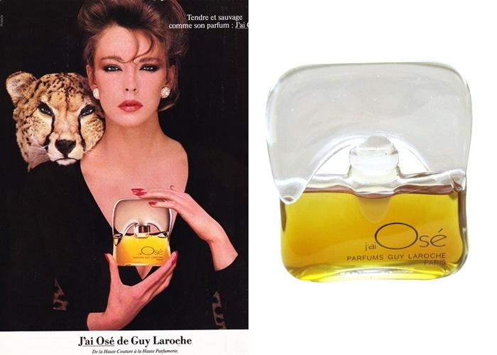 Французские ретро-ароматы, обожали советские женщины - J'ai Osé – Guy Laroche (1978)