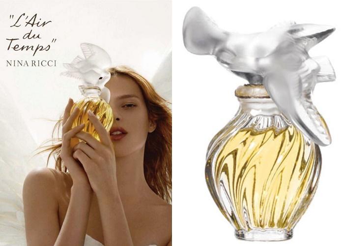 Французские ретро-ароматы, обожали советские женщины - L'Air du Temps – Nina Ricci (1948)
