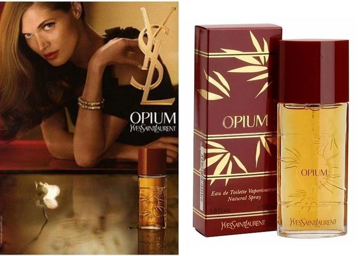 Французские ретро-ароматы, обожали советские женщины -Opium – Yves Saint Laurent (1977)