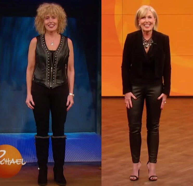 Из бабушки-неформалки в леди на каблуках - Лиза до и после преображения