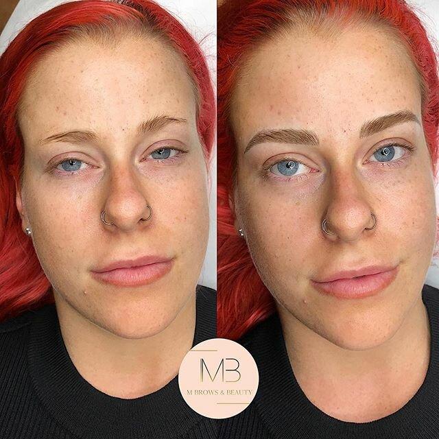 Брови меняют лицо: женщины до и после микроблейдинга - короткие