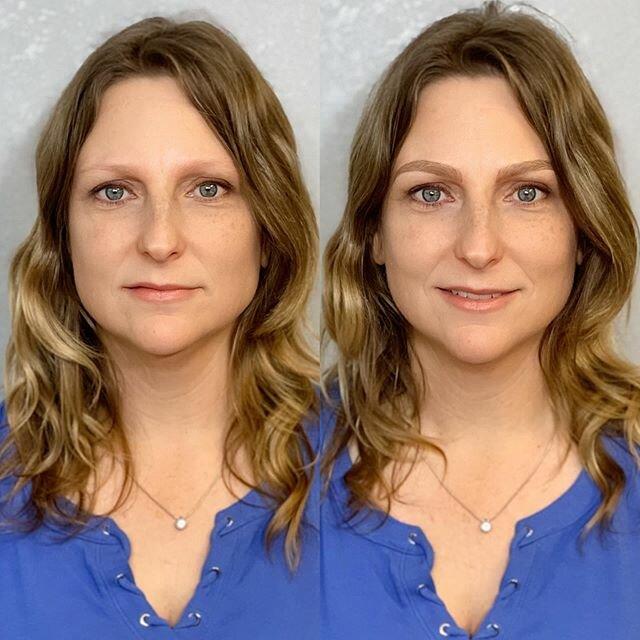Брови меняют лицо: женщины до и после микроблейдинга - бесцветные