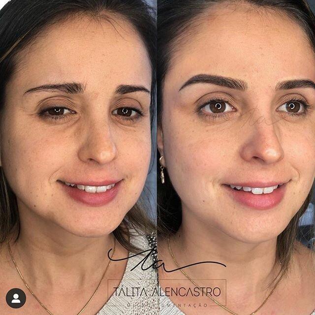 Брови меняют лицо: женщины до и после микроблейдинга - грустные