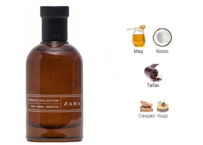 Комплиментарные ароматы француженки - Tobacco Collection Rich Warm Addictive (Zara)