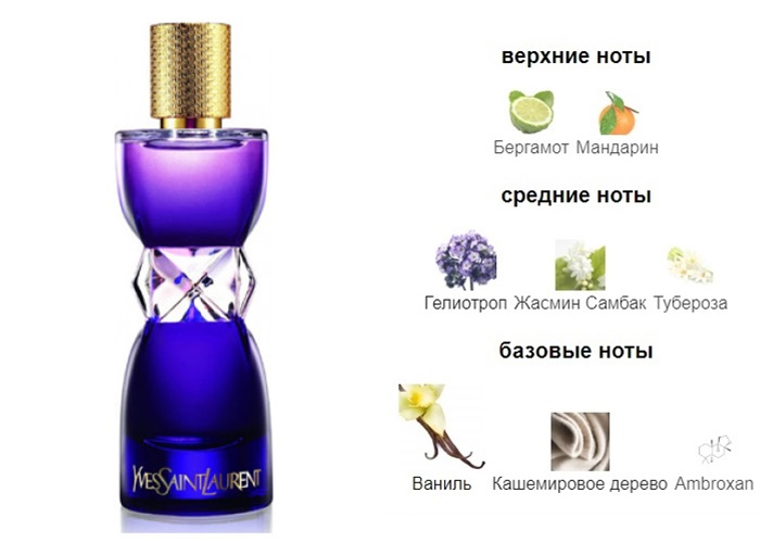 Комплиментарные ароматы француженки - Manifesto L'Elixir (Yves Saint Laurent)