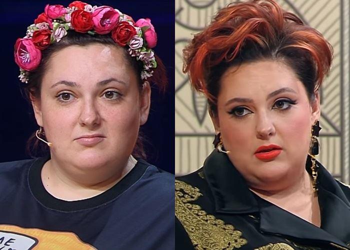 """""""Модный приговор"""", Ева ,100 кг, 62 размер - до и после"""