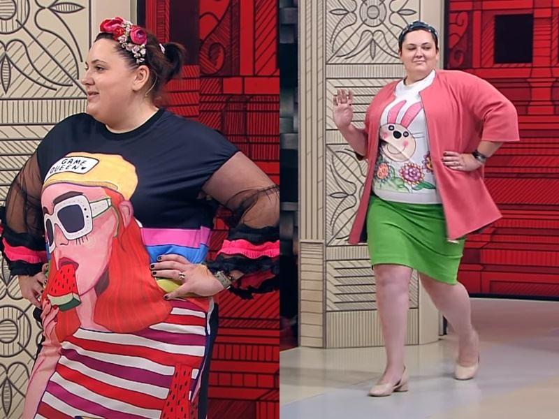 """""""Модный приговор"""", Ева ,100 кг, 62 размер - Я полненькая, но мне это не мешает."""