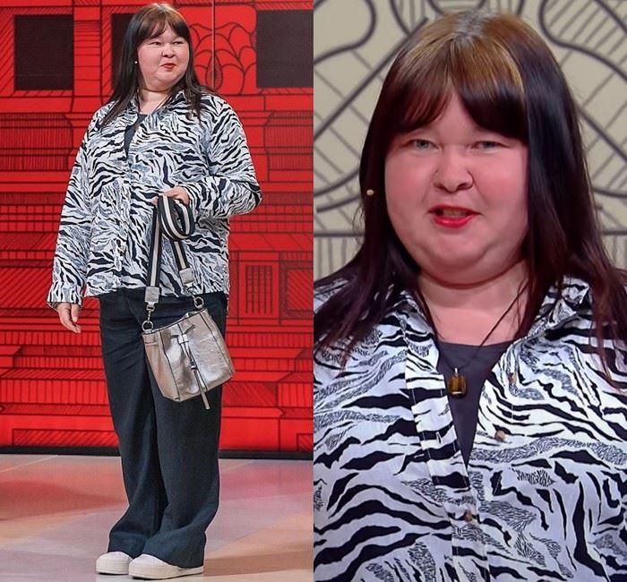 Модный приговор для Ирины - Блузка с хищным принтом + мешковатые брюки