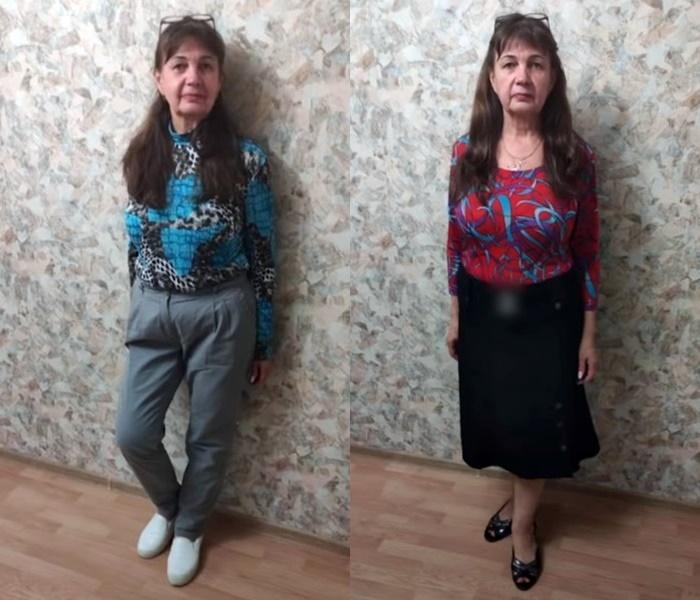Модный приговор, пенсионерка Ирина 58 лет - до