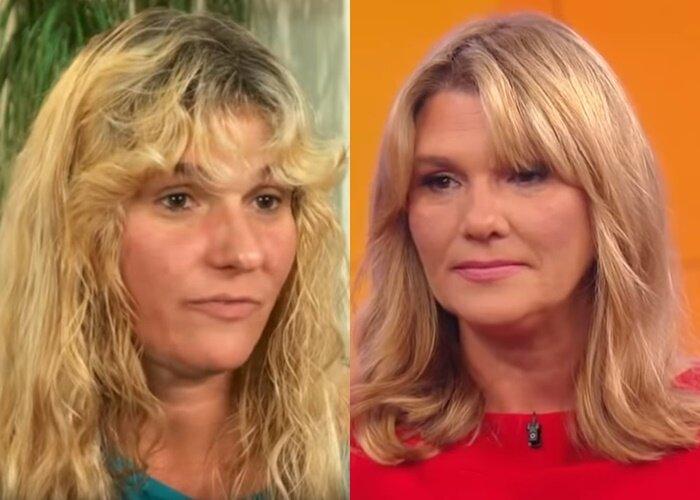Преображение домохозяйки Кэти - прическа до и после