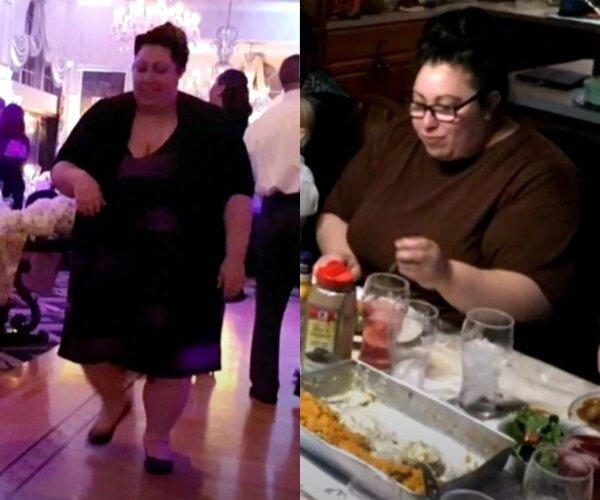 Преображение Джейми, похудевшей на 100 кг - переедание