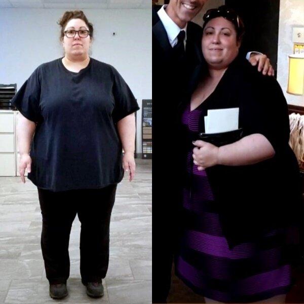 Преображение Джейми, похудевшей на 100 кг - похудение