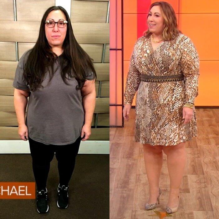 Преображение Джейми, похудевшей на 100 кг - до и после