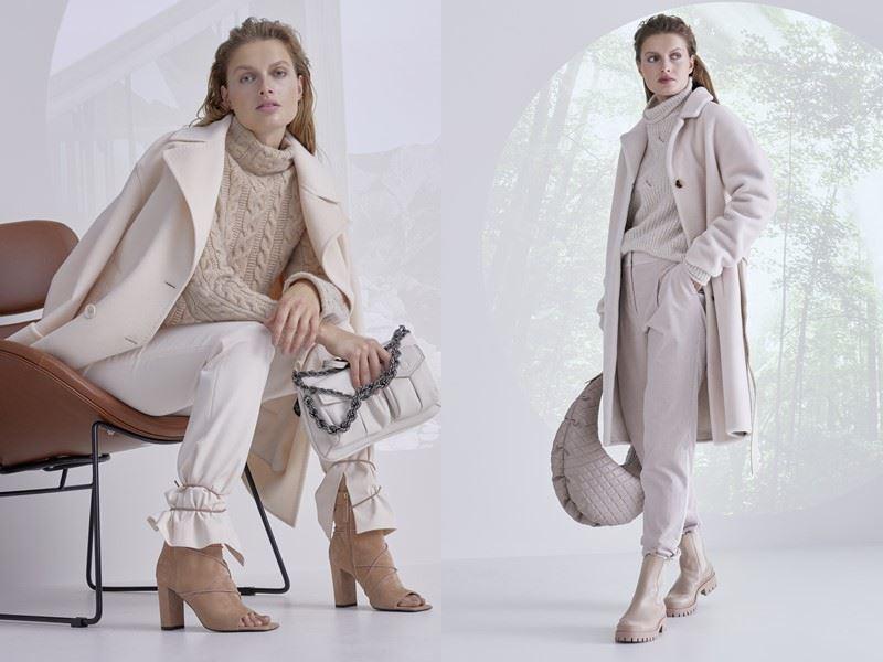 Модный трикотаж: Marc Cain осень-зима 2021-2022 -