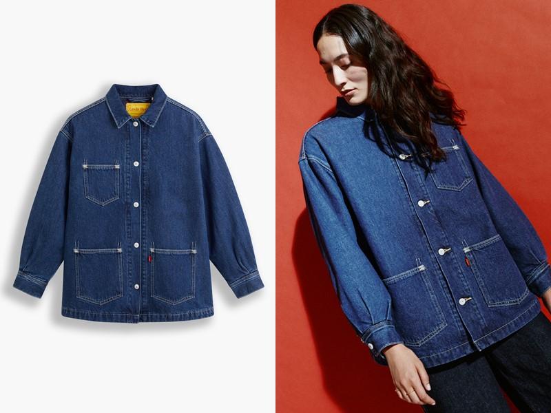 Джинсовые вещи из денима Levi's® Red™ осень-зима 2021-2022 - Джинсовая рубашка