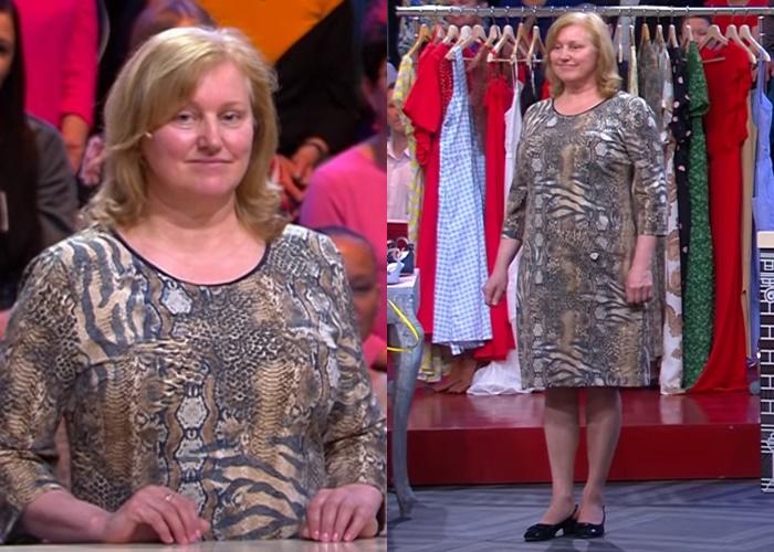 «Модный приговор» для женщины 60 лет - прямое платье
