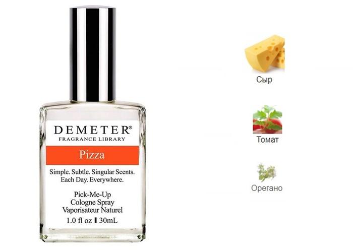 Ароматы с нотой сыра - Pizza (Demeter)