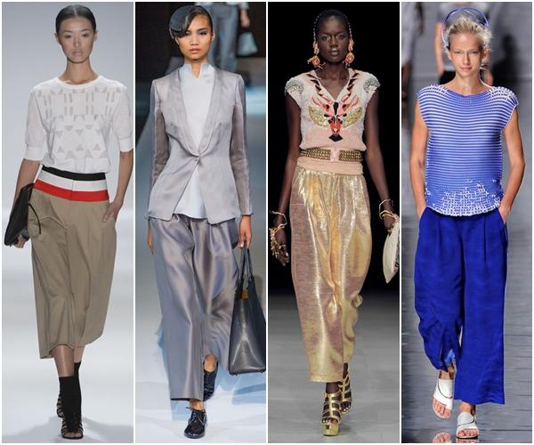 Женские брюки 2013: трубы
