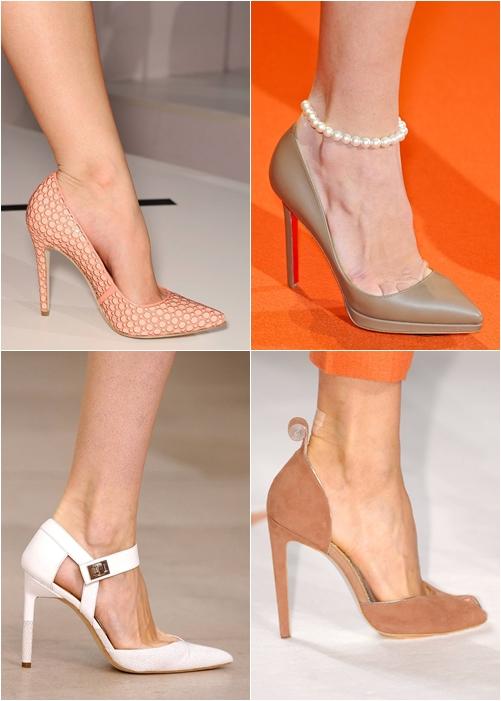 Модная обувь весна-лето 2013: классические лодочки