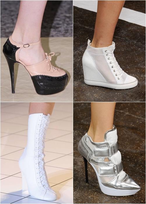 обувь весна-лето 2013 спортивный стиль