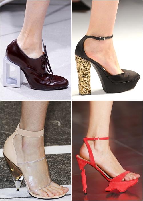обувь весна-лето 2013 оригинальный каблук