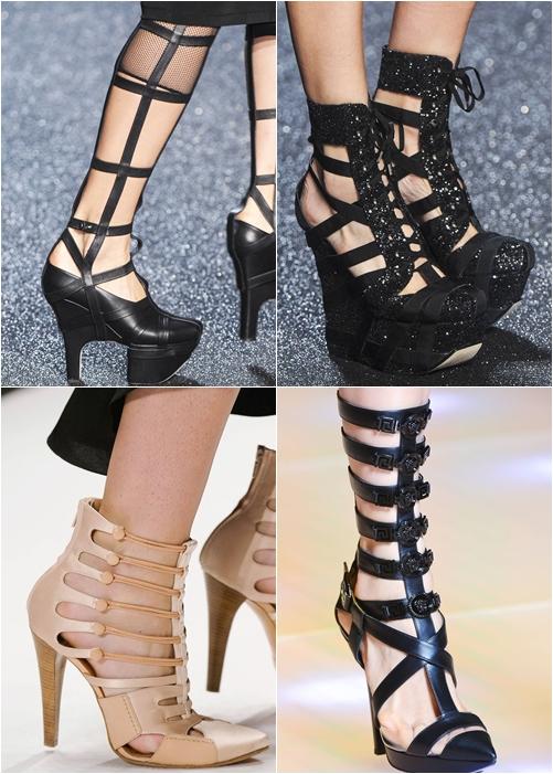 обувь весна-лето 2013 бондажная обувь