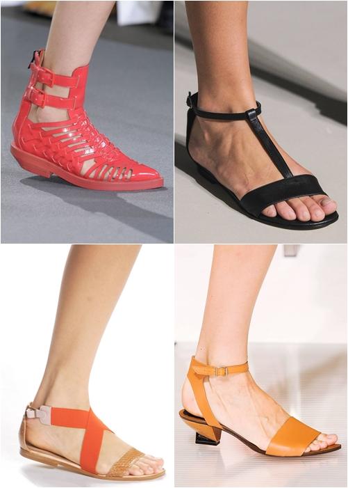обувь весна-лето 2013 - римские сандалии