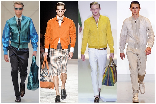 Мужская мода весна-лето 2013: куртка teddy