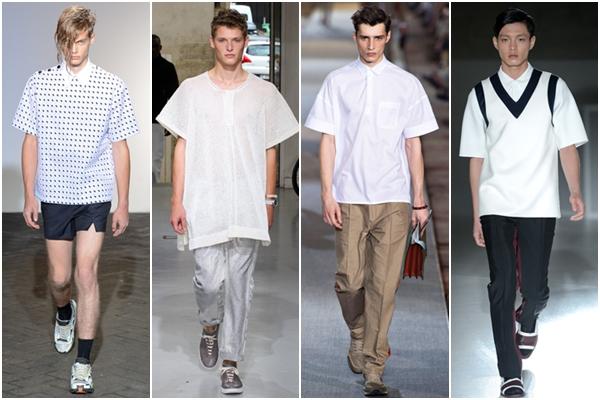 Мужская мода весна-лето 2013 римский стиль