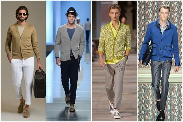 Мужская мода весна-лето 2013 мужские кардиганы