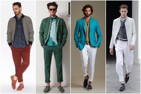 Мужская мода весна-лето 2013 укороченные брюки