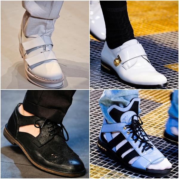 Мужская обувь 2013 комбинированные модели