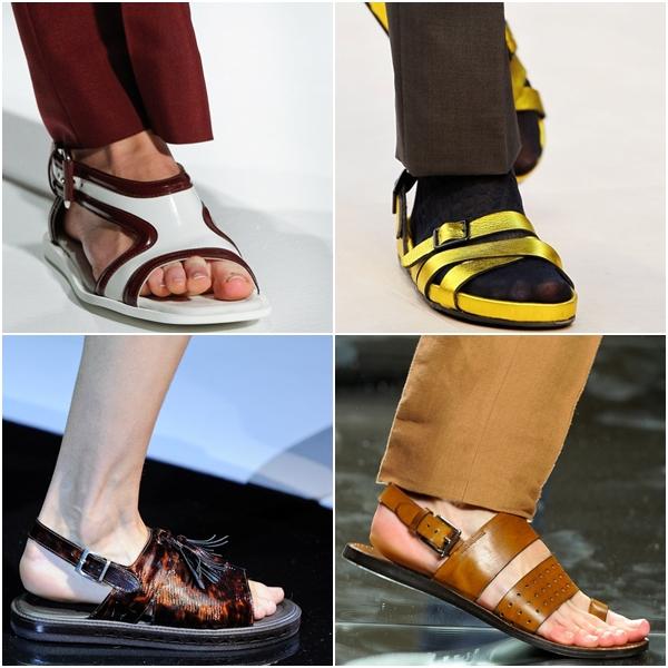 Мужская обувь 2013 сандалии