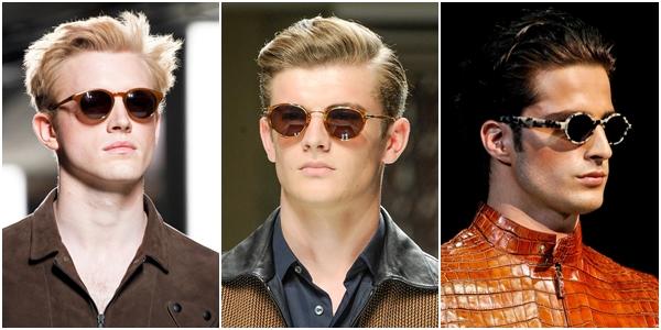 Мужские очки весна-лето 2013 коричневые линзы