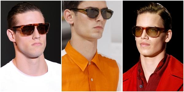 Мужские очки весна-лето 2013 натуральные, роговая оправа