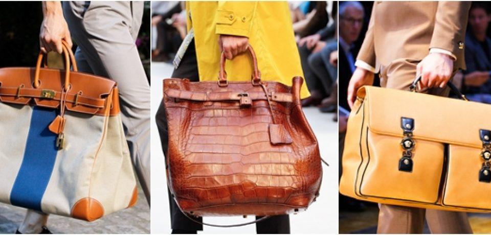 Мужские сумки 2013: стильные аксессуары весны и лета