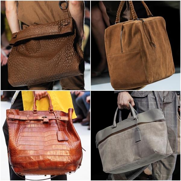 Мужские сумки 2013 замшевые, крокодиловые