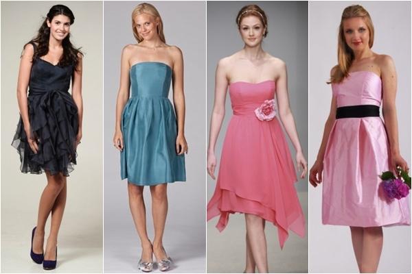 Платья подружки невесты 2013