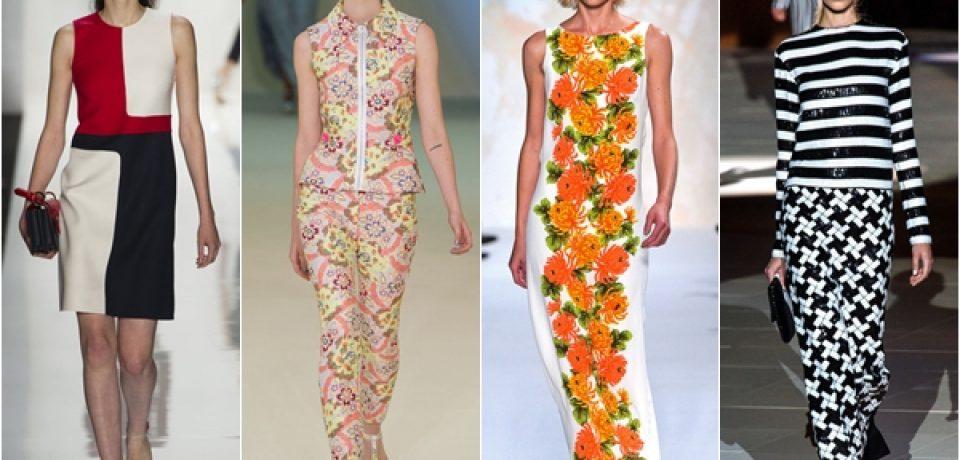 Принты 2013: модные узоры для весны и лета