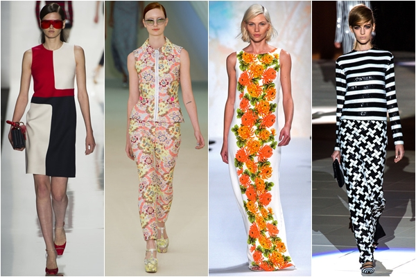 принты 2013 модные узоры для весны и лета