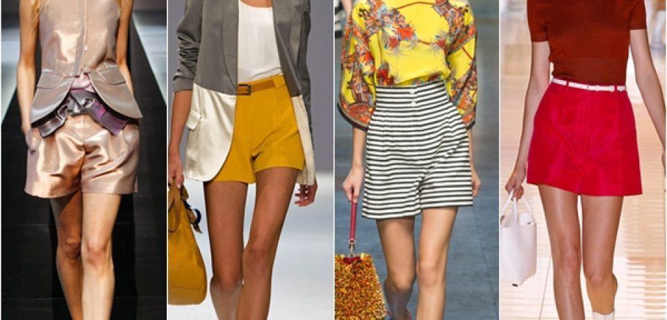 Шорты 2013: базовая вещь летнего женского гардероба