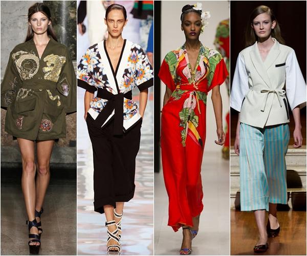 Весна-лето 2013 модные тенденции японский стиль